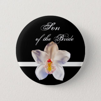 Son Of The Bride Wedding ID Badge Pinback Button