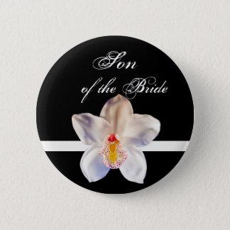 Son Of The Bride Wedding ID Badge Pinback Button