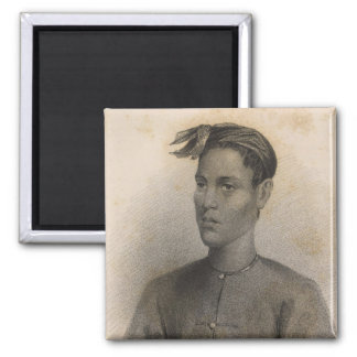 Son of the Sultan, Sooloo, Philippines 2 Inch Square Magnet