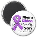 Son - Pancreatic Cancer Ribbon Fridge Magnets