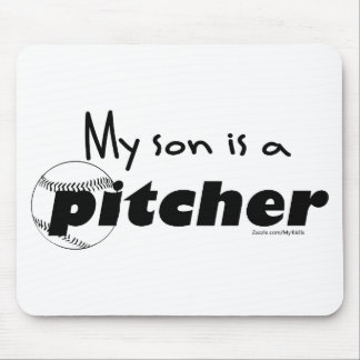 Son PItcher Mouse Pad