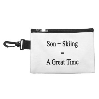 Son Plus Skiing Equals A Great Time Accessories Bags