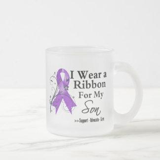 Son Purple Ribbon - Pancreatic Cancer Coffee Mugs