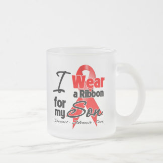 Son - Red Ribbon Awareness Mugs
