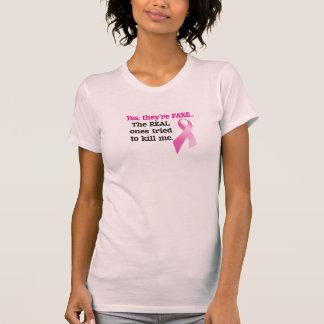 Son sí camisa falsa - conciencia del cáncer de