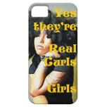 Son sí chicas reales de los rizos - caso del iPhon iPhone 5 Cárcasa