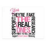 Son sí reales los falsos intentados para matarme postales