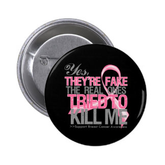 Son sí v2 falsos - cáncer de pecho pin redondo 5 cm