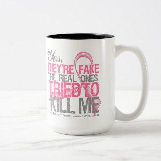 Son sí v2 falsos - cáncer de pecho tazas de café