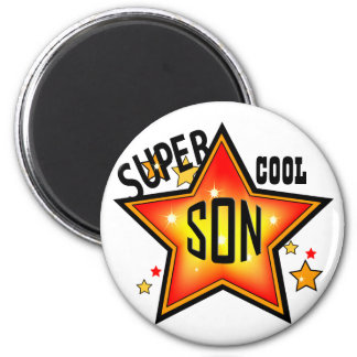 Son Super Cool Star Funny Magnet