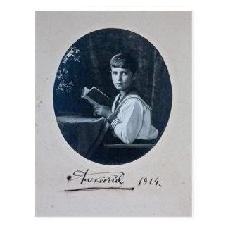 Son tsar - ALEXIS Romanov of Russia #089 Post Cards