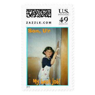 Son, U'r  My best job!, Postage Stamps