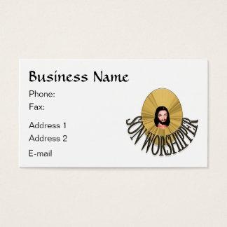 Son Worshipper Business Card