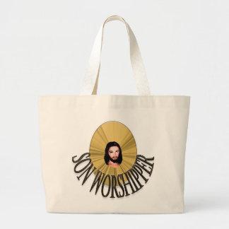 Son Worshipper Large Tote Bag