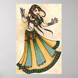 Sona Belly Dancer Poster
