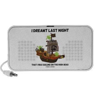 Soñaba anoche navegando el insecto Droid de los al Laptop Altavoces