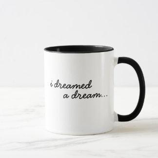 Soñaba un sueño taza