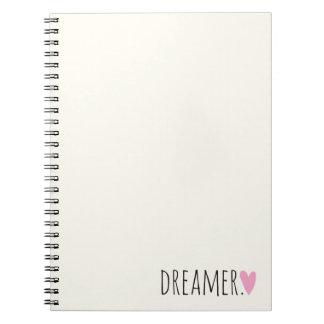 Soñador con el corazón note book