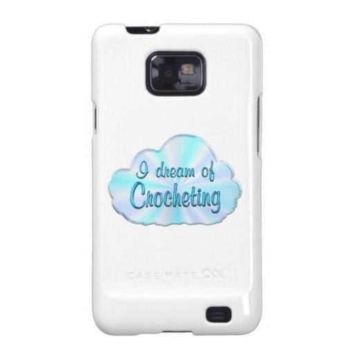 Soñador Crocheting Galaxy S2 Fundas