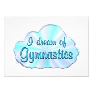 Soñador de la gimnasia comunicado personal