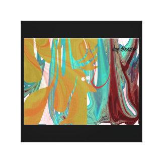 Soñador del día lienzo envuelto para galerias