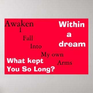 soñador del ego póster