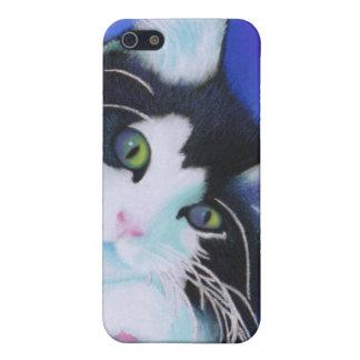 Soñador - gato iPhone 5 carcasa