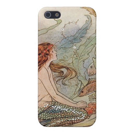 """""""Soñador… la sirena """" iPhone 5 Protectores"""