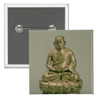 Sonam Gyatso, tercer Dalai Lama Pin Cuadrado