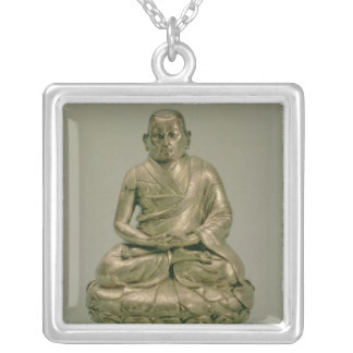 Sonam Gyatso , Third Dalai Lama Silver Plated Necklace