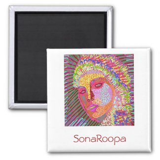 SONAROOPA at Zazzlelist Fridge Magnet