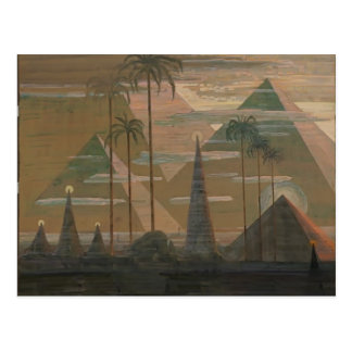 Sonata de Mikalojus Ciurlionis- de las pirámides Postal