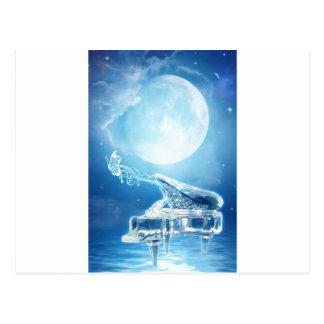 Sonata del claro de luna postal