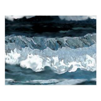 Sonata del océano - arte del océano de tarjetas postales
