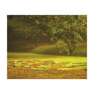 Sonata del otoño lona estirada galerias