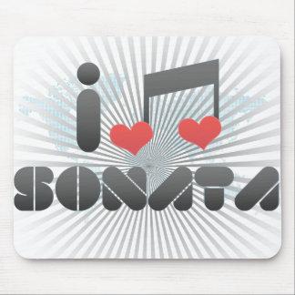 Sonata fan mouse pad