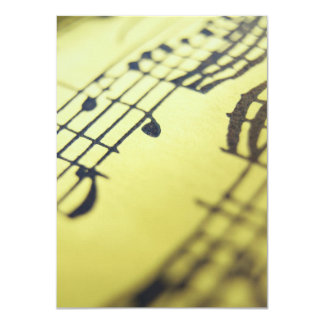 Sonata Sheet Music 3 Card