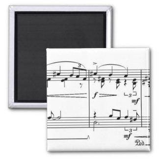 Sonata Something 2 Inch Square Magnet