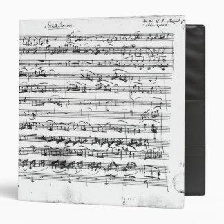 Sonate Premiere for violin and harpsichord Binder