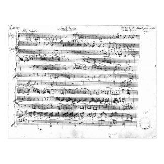 Sonate Premiere for violin and harpsichord Postcard