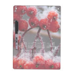 SONB Snow on Berries; 2013 Calendar Dry Erase Board With Keychain Holder