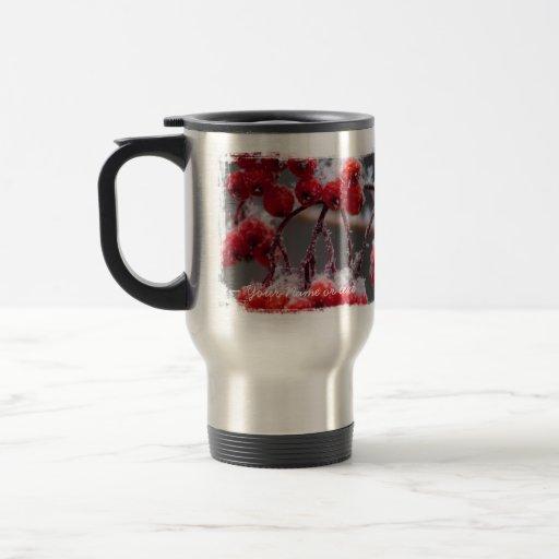 SONB Snow on Berries; Customizable Coffee Mug