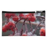 SONB Snow on Berries; Customizable Cosmetic Bag