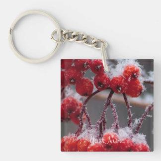 SONB Snow on Berries; Customizable Keychain