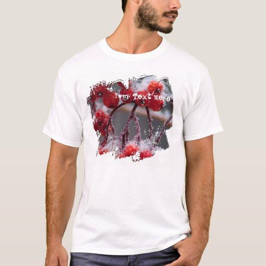 SONB Snow on Berries; Customizable T-Shirt