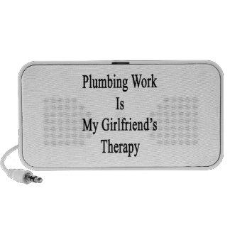 Sondear el trabajo es la terapia de mi novia iPod altavoz
