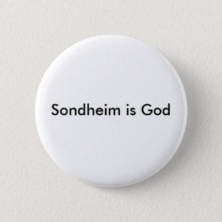 Sondheim is God Button
