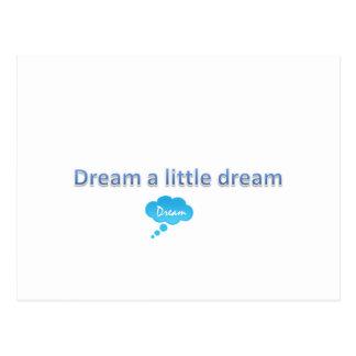 Soñe un pequeño sueño postal