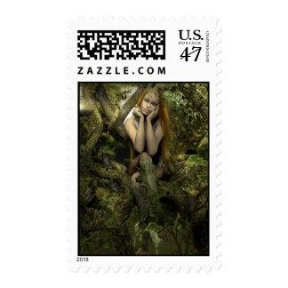 Soñe un pequeño sueño sellos postales