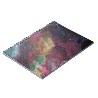 Soñe un pequeño sueño spiral notebook